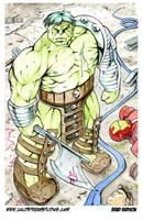 World War Hulk color by bphudson