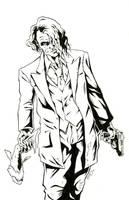 Heath Ledger Joker by bphudson