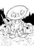Stewie as Merle by bphudson