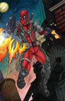 Deadpool by bphudson