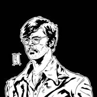 Edmund Kemper - Ink by The-Real-NComics