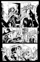 Black Label - Page 1 - Inks by The-Real-NComics