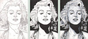 PSC - Marilyn Monroe - Steps by The-Real-NComics