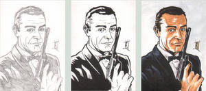 PSC - James Bond - Steps by The-Real-NComics
