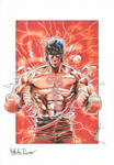 Kenshiro 1 - Color by The-Real-NComics