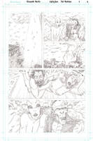 The Pariah - Page 4 - Pencils by The-Real-NComics