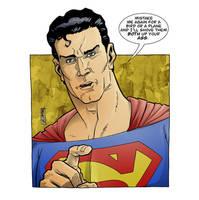 NComics - Superpissed Superheroes!!! - Superman by The-Real-NComics