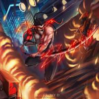 Genji BlackWatch ! :D hope you guys like it ! by CrowyD