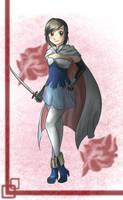 Fancy Fighter by Ribbon-Knight