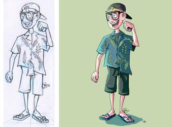 Hat guy (2) by Jujulsbp