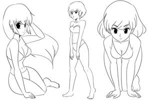 Sketches for the Sketch book by mosuga