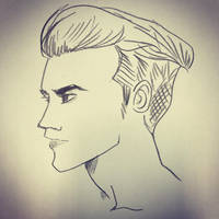 side view male by mosuga