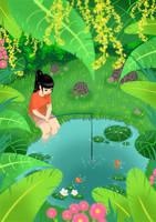 Secret Fishing Hole by mosuga