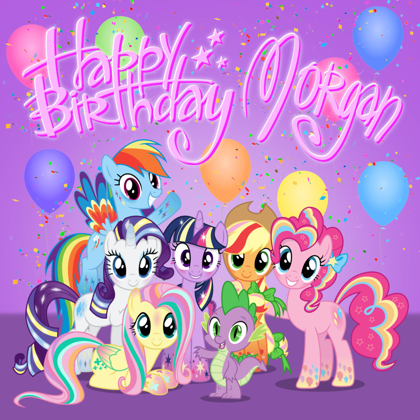 Morgan's birthday cake by mosuga