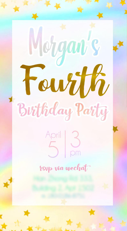 Birthday Invite by mosuga