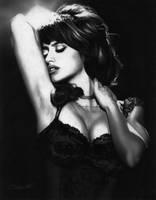 Penelope Cruz by justinsdrawings