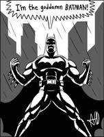 The Goddamn Batman by tricketitrick