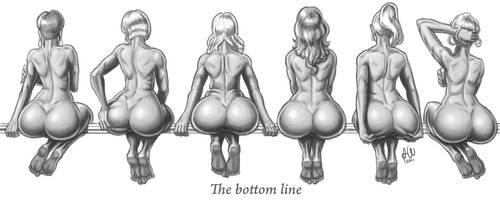 The Bottom Line by tricketitrick