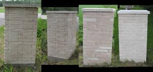 fune-stock_brick_column1 by Fune-Stock