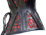 corset with gussets side view by crissycatt