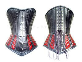 midbust corset by crissycatt