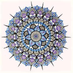 Mandala 03 by InsomniaARS