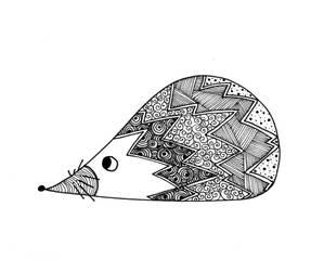 Little hedgehog by Betagalactosidase