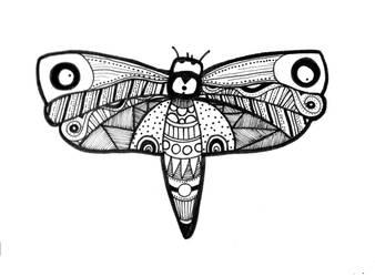Moth by Betagalactosidase