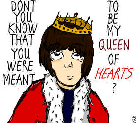 Queen of Hearts by kittyjknitty