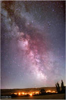 Milky way in summer by kopfgeist79