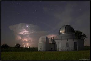 Thunderstorm observatory by kopfgeist79