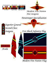 Azula modern Flag by GennadyKalugina