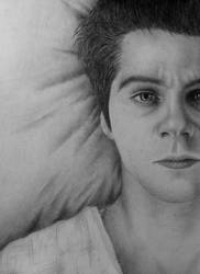 Dylan O'Brien as Stiles by Anetta035