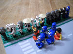 Garmadon's Conga line by MinkuDaGreat