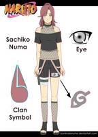 Naruto OC: Sachiko Numa by kaminariXnuma