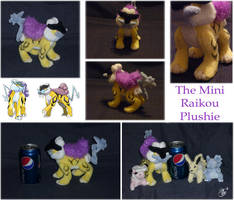 The Mini-Raikou Plushie by apox0n
