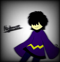 Nightmare (Friend's OC) by Victoriathehedghog