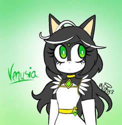 Venusia: Greennn by Victoriathehedghog