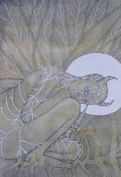 armed angel by inkzoo