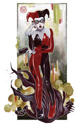 Harley Quinn Commission by tiwali