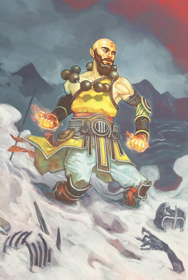 Monk by tiwali