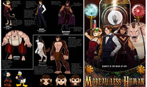 Moreau Less Human by Garoooooh