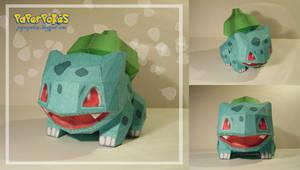 Bulbasaur Doll Papercraft by Lyrin-83