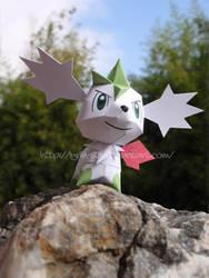 Chibi Skymin Papercraft by Lyrin-83