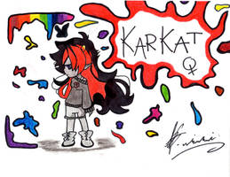 Katkat Vantas (Fem) by TheChickWithTheHat
