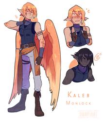 Kaleb sketches [Oc] by SouOrtiz