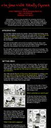 e1n GONE WILD: comic planning by e1n