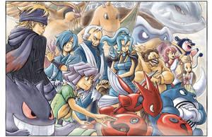 Pokemon: Johto Side by e1n