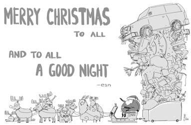 Merry Christmas 2012 by e1n