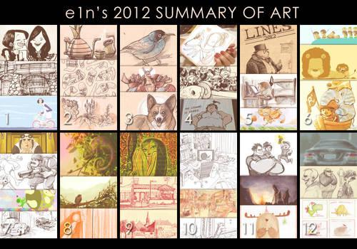 Summary of Art 2012 by e1n